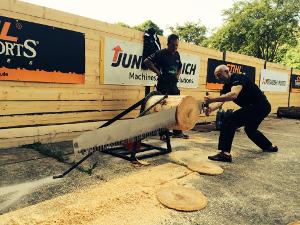 Das Training der Sportholzfäller