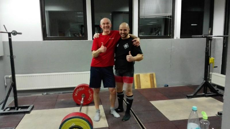 Mavrici mit deutschem Rekord im Kreuzheben