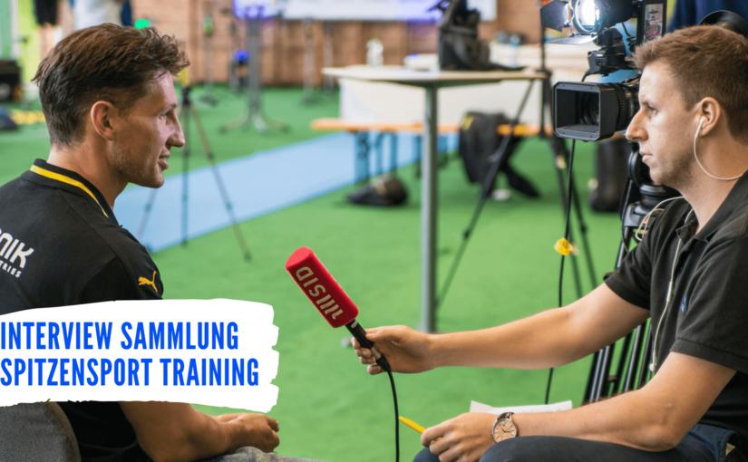 Interviewsammlung Spitzensport Training